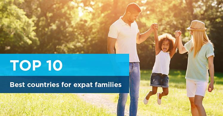 Top 10 Die besten Länder für Expat-Familien