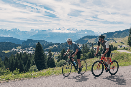 father-and-son-cycling-in-the-mountains
